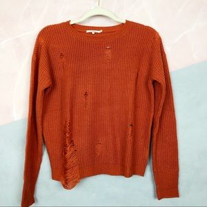 Tularosa Revolve Distressed Sweater A7